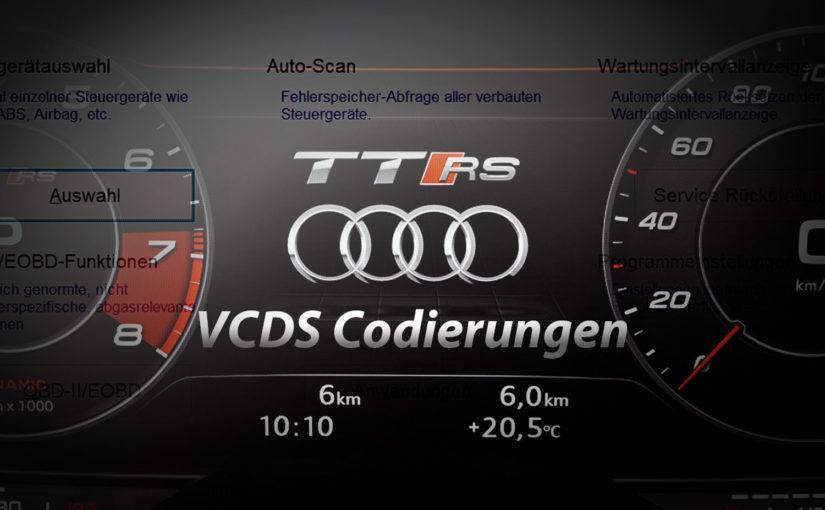 VCDS – Audi TT (8S) – Piepton beim Abschließen codieren